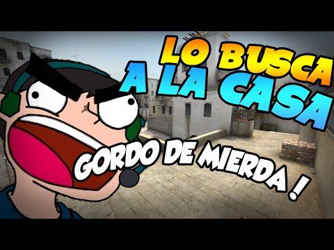ES TROLLEADO, SE ENOJA Y VA A BUSCARLO A SU CASA! | CS: GO