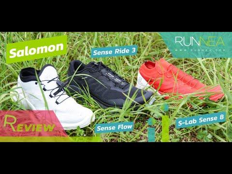 Review de la gama Sense de Salomon: Los últimos modelos en zapatillas de tral running de Salomon