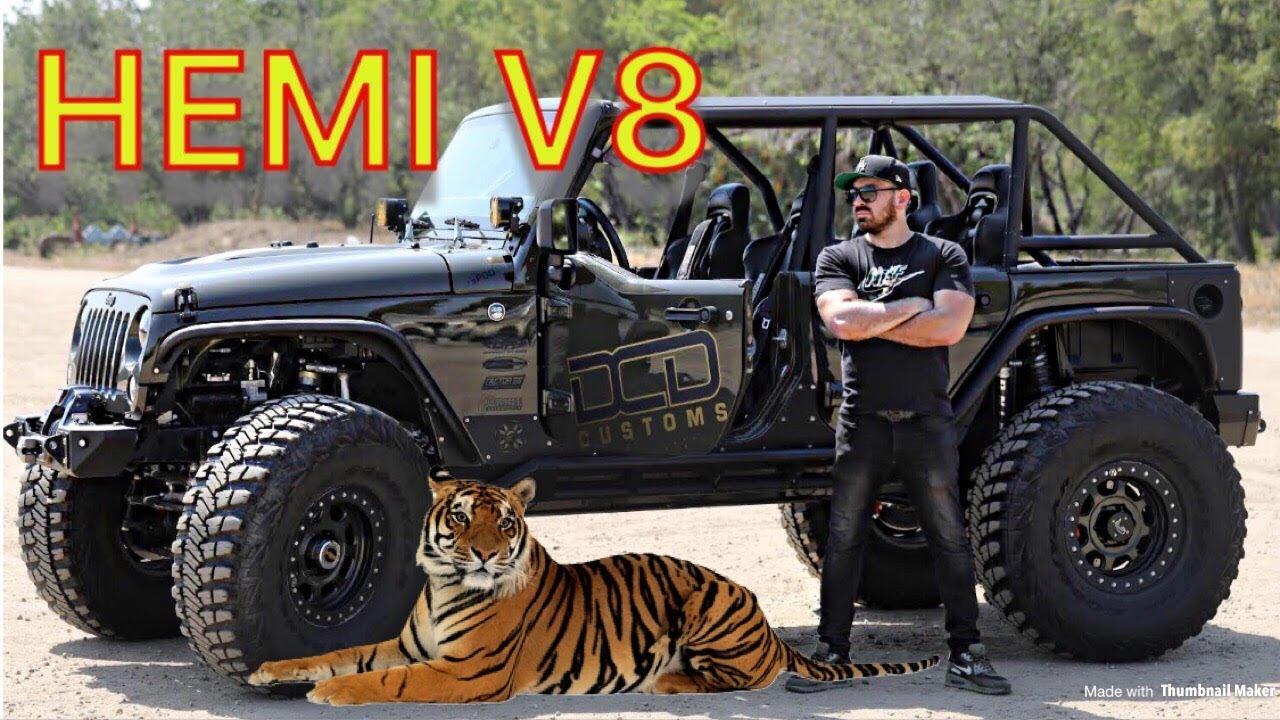 Jeep Wrangler Hemi >> Hemi V8 Jeep Wrangler Jk 550 Hp Review