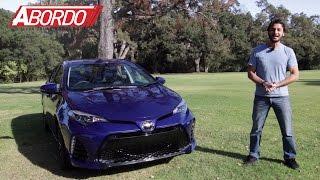 Toyota Corolla 2017 Prueba A Bordo Completa