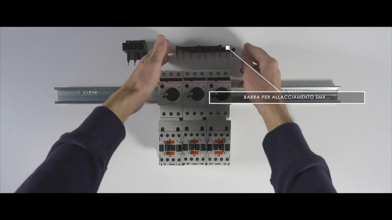 Schema Elettrico Contattore E Salvamotore : Abbinamento tra salvamotore e contattore interruttori