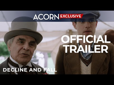 Acorn TV  Exclusive Premiere  Decline and Fall
