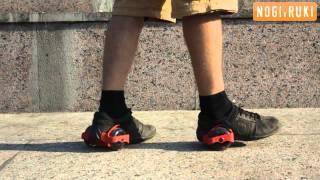 Как научиться кататься на мини-роликах