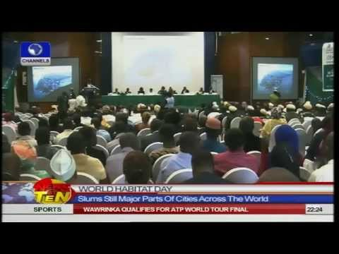 News@10: UN Asks Leaders To Focus On Developing Slums On World Habitat Day 131014 Pt.2