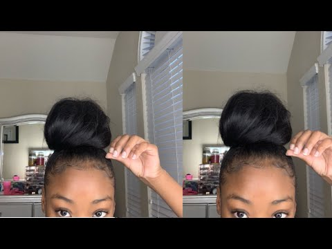 HOW TO: Perfect Bun With Weave
