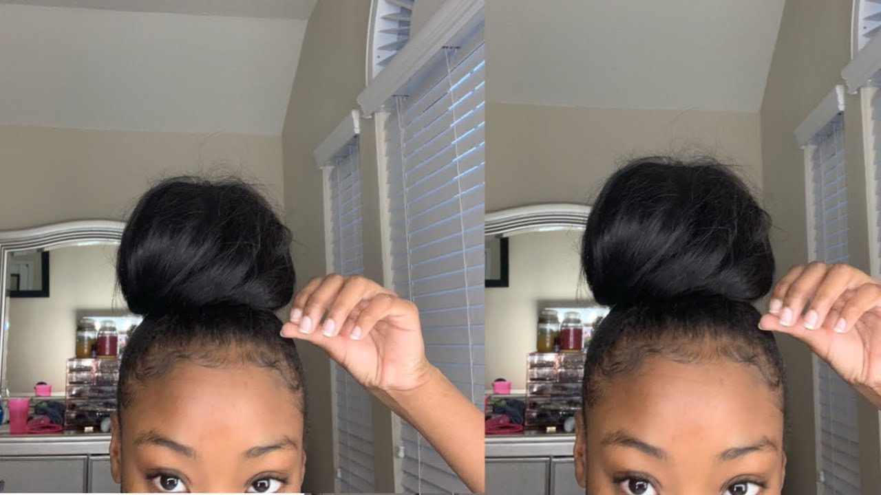 Download HOW TO: Perfect bun with weave