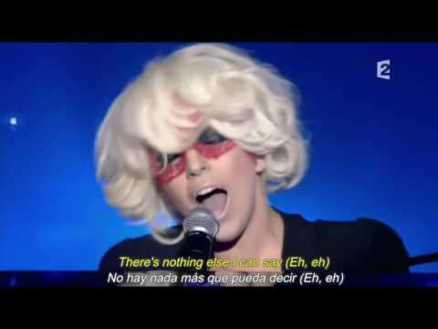 Lady gaga - Eh Eh (Nothing Else I Can Say) (Sub español - lyric)