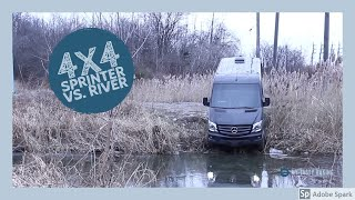 4x4 Mercedes Urban Off-Roading | 2018 Sprinter