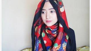 #63 Hijab Tutorial - Natasha Farani (2 Cara Memakai Jilbab Paris SegiEmpat)
