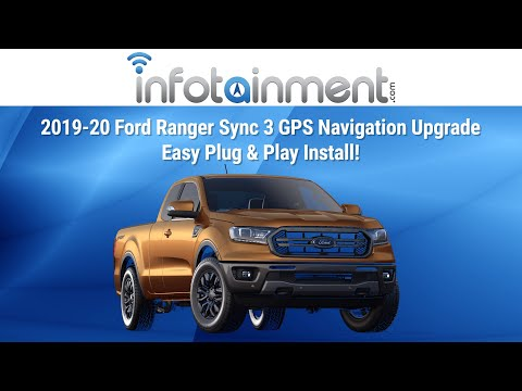 2019-2020 Ford Ranger Sync 3 GPS Navigation Upgrade - Easy Plug & Play Install!