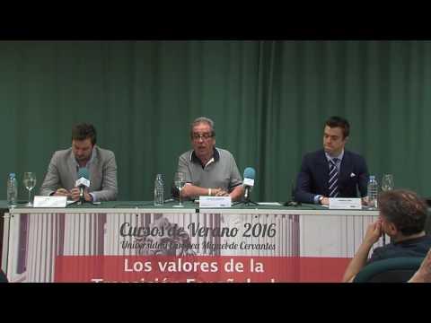 """""""Los valores de la Transición Española, hoy"""" - Medios de comunicación y valores de la transición"""