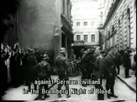 Krwawa Niedziela W Bydgoszczy (Night Of Blood In Bromberg) 1939 (Video)