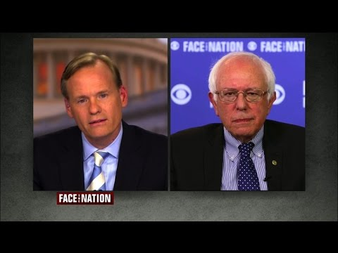Sanders will not engage in personal attacks with Hillary Clinton