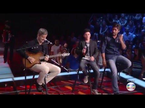 Victor & Leo e Wagner Barreto cantam 'Tem que ser você' no The Voice Kids - Final|1ª Temp