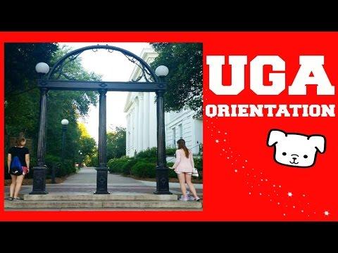 UGA Orientation Vlog