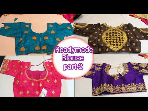 6ce2bf93266693 Readymade Blouse Collections part-2  Bridal and casual Blouse-Sowcarpet   RasikalamRusikalam