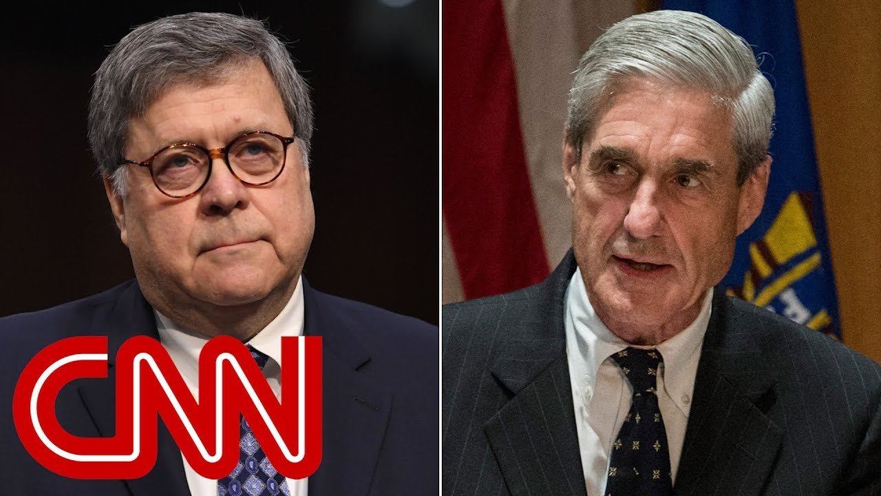 Barr delivers his summary of the Mueller report to Congress