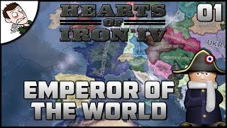 EMPEROR OF THE WORLD - Hearts of Iron 4 Mod Gameplay Part 1