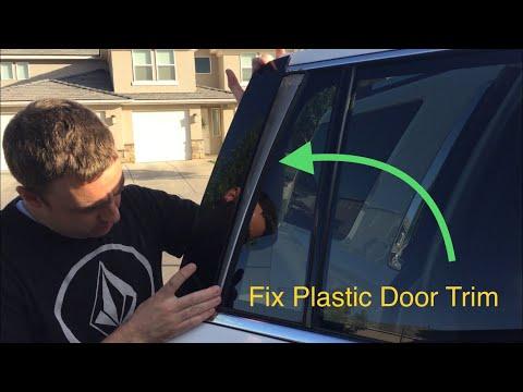 Fix Plastic Door Trim from separating Yukon, Tahoe, Suburban, Other cars