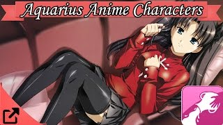 Top Aquarius Anime Characters (Astrology Sign)