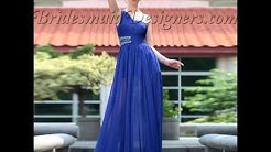 2013-14 hottest collection of blue Bridesmaid Dresses