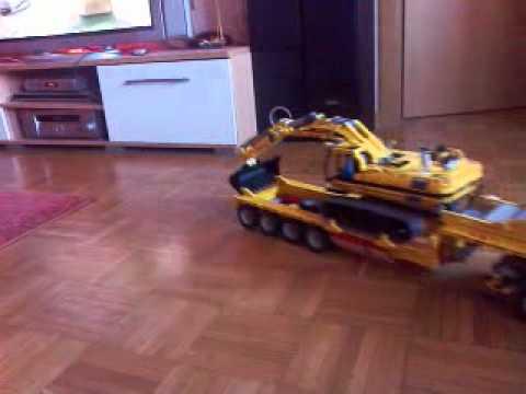 lego technic truck 8258 tieflader mit lego technic. Black Bedroom Furniture Sets. Home Design Ideas