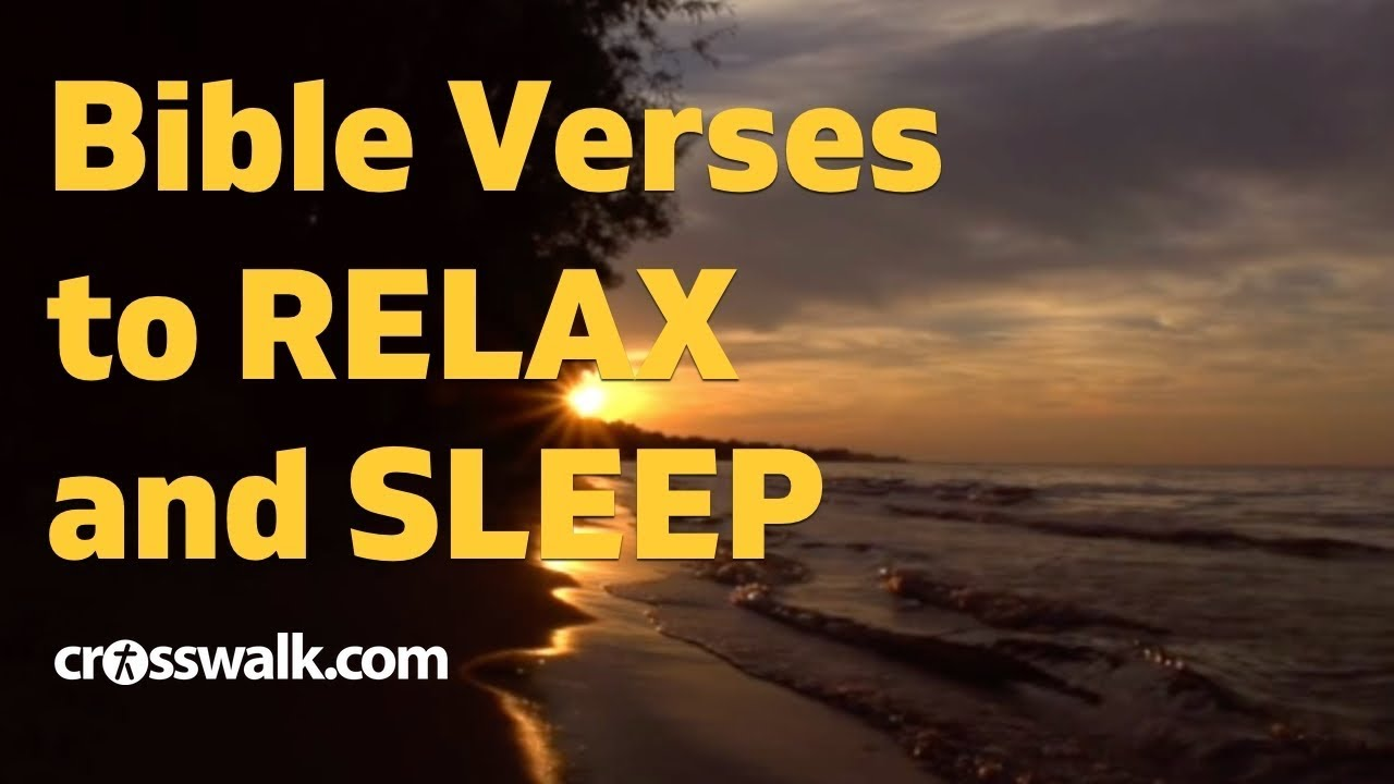 Bible Verses About Sleep Scripture For Rest And Rejuvenation