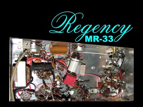 Regency MR-33 Monitor Radio Repair