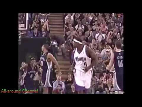 Chris Webber 31pts 7ast vs. Grizzlies 2004-05