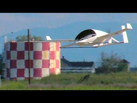 Aurora eVTOL Flight Test model