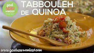 Tabbouleh De Quinoa - Saludable, Sin Gluten, Bajo En Grasas ♥
