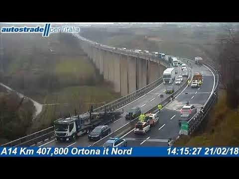 Incidente A14 21 febbraio 2018 (Autostrade per l'Italia)