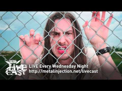 ANDREW WK Interview on the Metal Injection Livecast