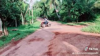 Yamaha Raptor 250cc Stunt Akash Prabha Jayanayaka