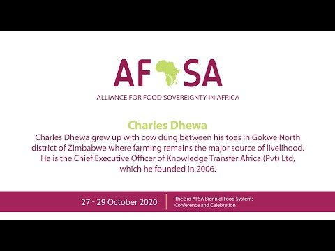 Charles Dhewa: Seeding food systems and indigenous commerce in African mass markets