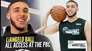 """Follow Your DREAMS"" LiAngelo Ball All Access & Behind The Scenes at The Pro Bball Combine!!"