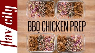 BBQ Chicken Meal Prep – Easy Meal Prep Recipe – BBQ Beans Recipe