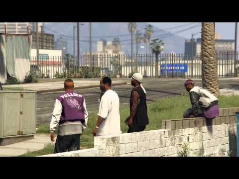 GTA V - Ballas (Rockstar Editor)