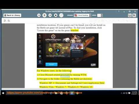 Fix Error Code BLZBNTAGT00000BB8 When Updating/logging Into Battle.net App