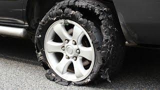 Reifenpanne: Das unterschätzte Risiko
