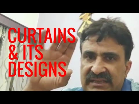 Curtains. How to choose Curtains and stitching designs. - Window Furnishing Part 11 -