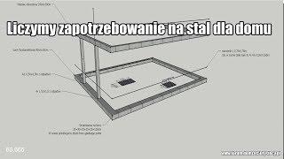 #vlogbudowlany. Ile potrzebujemy stali do wybudowania domu? Dokładne omówienie i zobrazowanie (8/15)