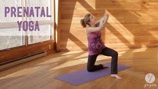 Prenatal Yoga Routine: Gift Of Life (3rd Trimester)