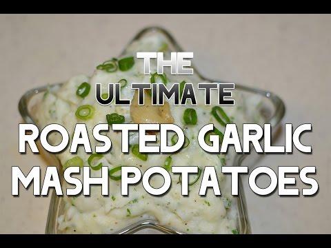 Roasted Garlic and Herb Mashed Potatoes