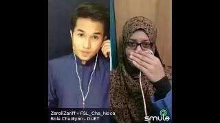 Video Bole Chudiyan(Film Kabhi Kushi Kabhi Gham) - Zaroll Zariff & Hidayah Halim [Smule Malaysia] download MP3, 3GP, MP4, WEBM, AVI, FLV Agustus 2018