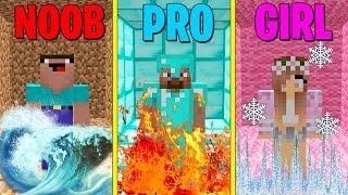 Minecraft Battle: NOOB vs PRO vs GIRL: BEST TRAPS Challenge in Minecraft ARENA!
