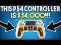 This PS4 Controller is $14,000! FREE PS4 Game Gets BIG Update!