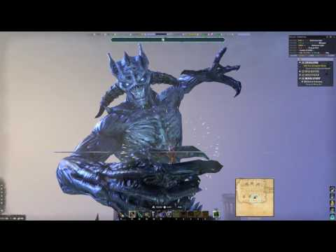 Elder Scrolls Online : God of Schemes Quest/Molag Bal Fight (4K)