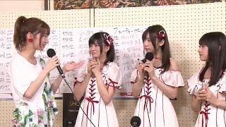 加藤美南 宮島亜弥 角ゆりあ AKB48総選挙2017直後インタビュー 柏木由紀 NGT48