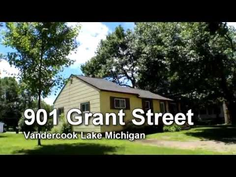 SOLD - Vandercook Lake Home For Sale - 901 Grant St Jackson MI - Production Realty